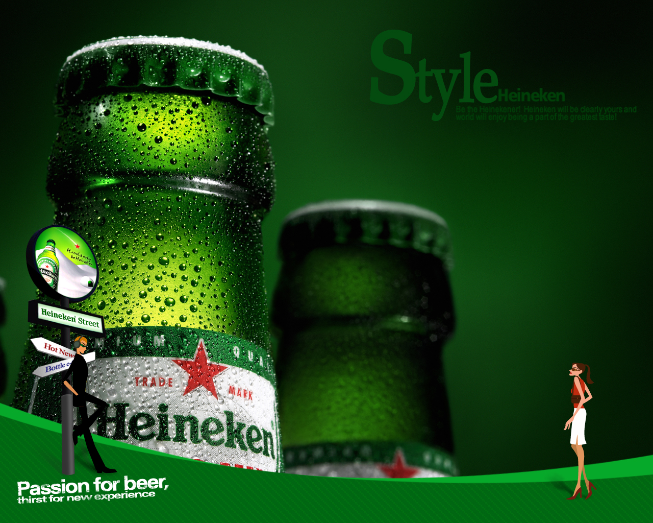advertising and heineken Acitivity 0: introduction introduction beer is at present world's most consumed and oldest alcoholic beverage in the world, max n, (2005) accor.