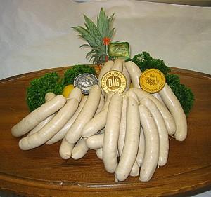 Силезская белая колбаса
