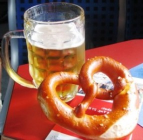 Брецель и пиво