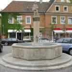 Статуя ученика пекаря в Шпейере