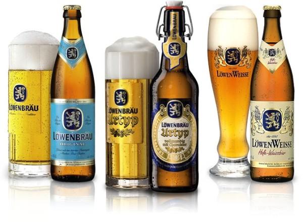 Löwenbräu: Original, Urtyp и Weisse