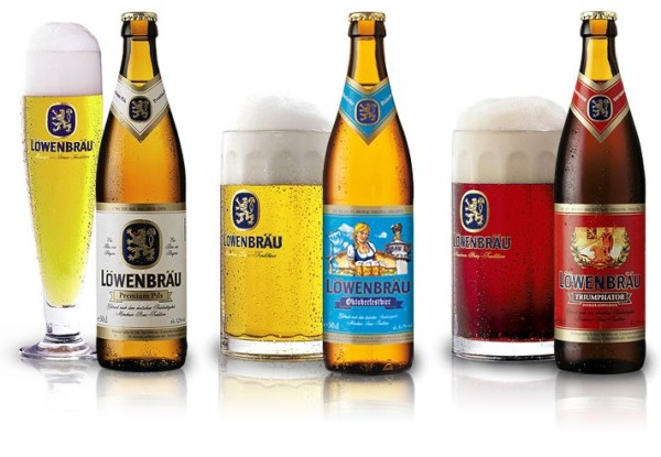 Löwenbräu: Premium Pils, Oktoberfest и Triumphator