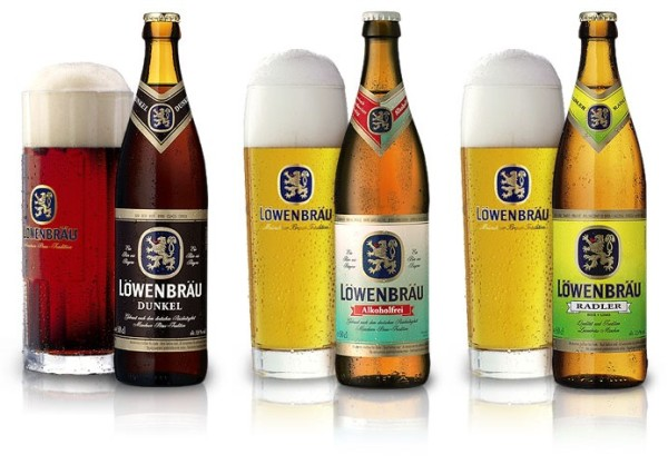Löwenbräu: Dunkel, Alkoholfrei и Radler