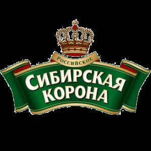 Логотип пива Сибирская корона