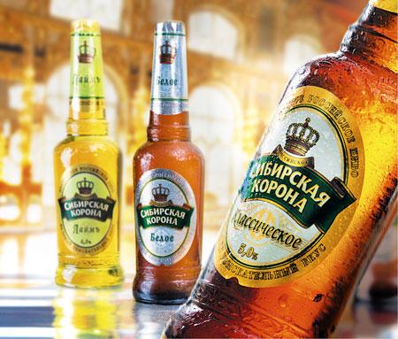 Пиво Сибирская корона